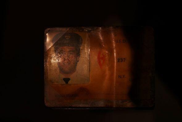 La identificación personal de Glenn J. Winuk, hallada en la Zona Cero.