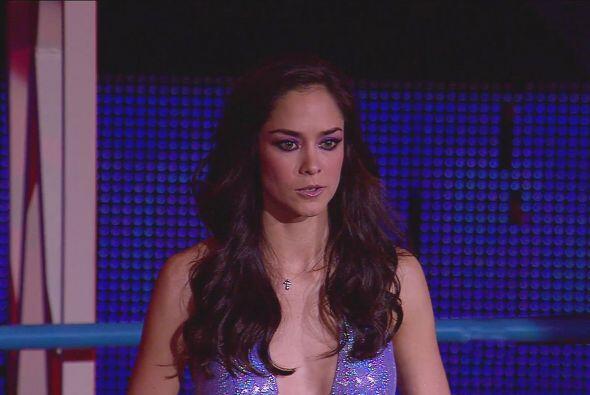 Dafne Molina nos sorprendió con su belleza...