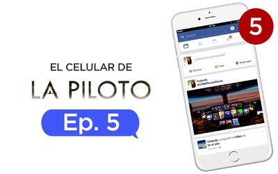 El celular de La piloto Capítulo 5