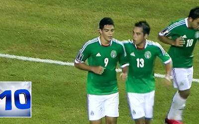 Magníficos 10 goles entre México y trinidad y Tobago