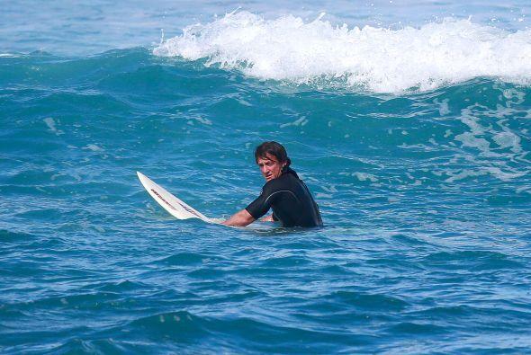 Es el rey de las olas. Mira aquí los videos más chismosos.