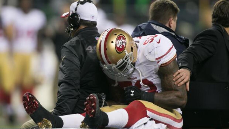 La lesión del juego de campeonato de la NFC le costaría a NaVorro Bowman...