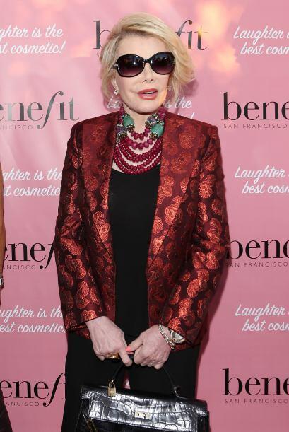 Joan Rivers siempre ha llamado la atención por su estilo irrevere...