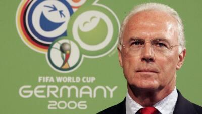 Acusan sobornos para obtener Mundial de Alemania 2006.