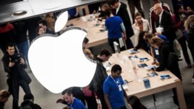 Los títulos de Apple han subido 59% desde que inició 2012.