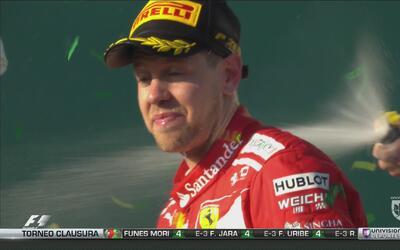 Sebastian Vettel se impone en el GP de Australia
