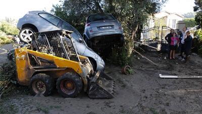 Así se ve Francia luego de las inundaciones que dejan al menos 10 muertos