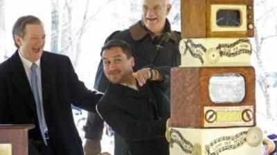 El minero chileno Edison Peña festejó el cumpleaños de Elvis Presley en...