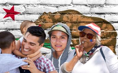 Los latinos en California son parte fundamental de la demografía...