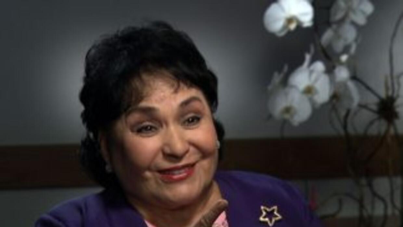 Carmen Salinas habló con 'Aquí y Ahora'.