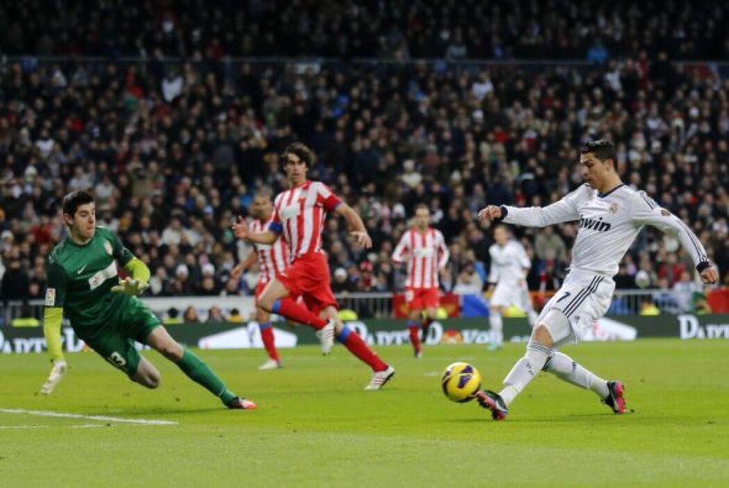 'CR7' fue el líder del Madrid en el 'derby' madrileño ante el Atlético.