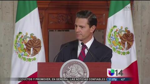 Reacciones en México a las declaraciones de Donald Trump sobre el muro e...