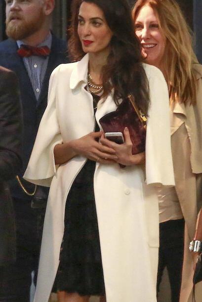 ¿Recuerdas la espigada figura de la guapa Amal?