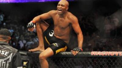 El regreso de Anderson Silva no será en 2014.