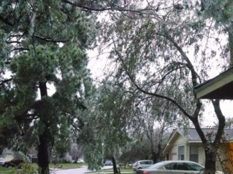 Las temperaturas congelantes vuelven a cubrir a Houston después d...