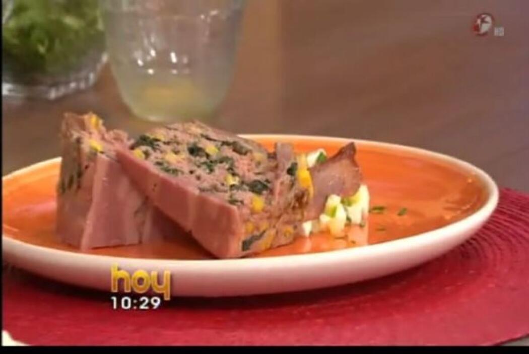 Pastel de Carne: Una variante del típico 'pan de carne' americano. En es...