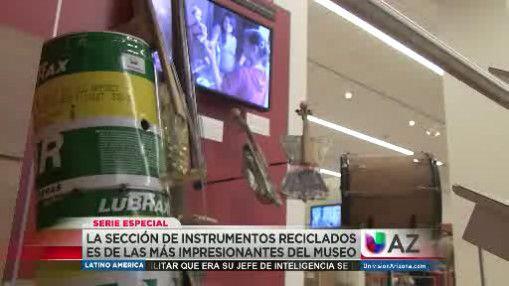 Pequeños de Paraguay encontraron en la basura interesantes instru...