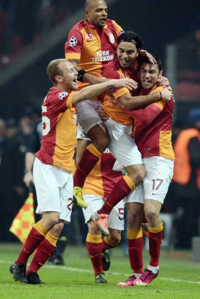 Los turcos parecían encaminados a vencer a un Schalke irregular e...
