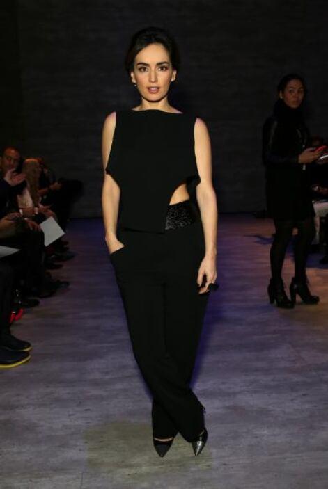 La bella Ana de la Reguera es otra adicta a la moda.