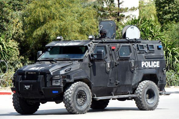 Allí tomaron varios rehenes, según el relato de las Fuerzas de Seguridad.