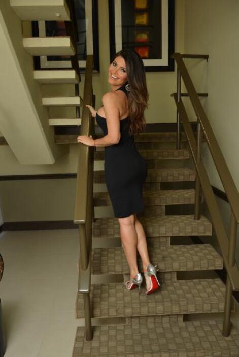 La guapa venezolana se levanta todos los días muy temprano por amor al D...