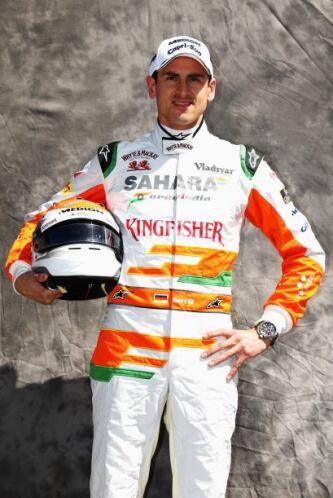 Adrian Sutil, Alemania, Force India-Mercedes.