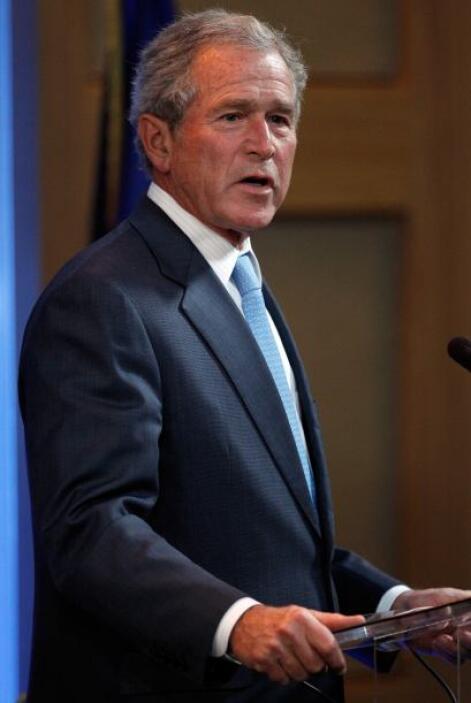 GEORGE BUSH.- Fue presidente los Estados Unidos de América desde el 20 d...