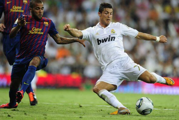 Cristiano Ronaldo tenía un buen partido, pero el lusitano ten&iac...