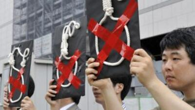 Japón, donde más del 85 por ciento de la población respalda este castigo...