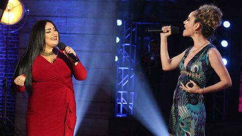 Sandra Padilla se enfrentó a Flor Hernández cantando 'Tú lo decidiste'