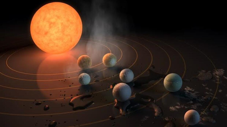 Estos planetas orbitan una estrella fría y los cambios en la luz que emi...