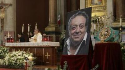 José Sulaimán fue recordado en emotiva misa (Foto: Twitter).