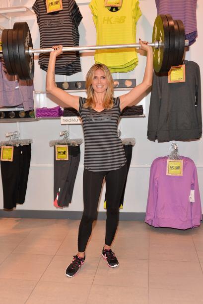 Hay mamás al estilo Heidi Klum que aman estar en forma. Si la tuy...