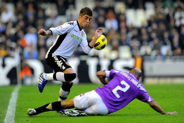 El otro juego del día tuvo al Valencia recibiendo al Deportivo.