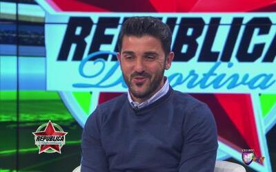 David Villa en exclusiva en República Deportiva