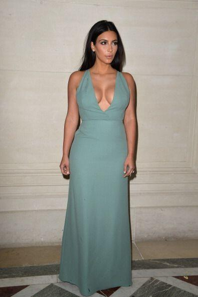 ¡Kim Kardashian también pasó lista! La socialit&eacu...
