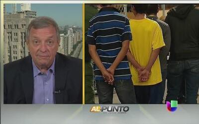 Senador Durbin: ''No hay conexión entre DACA y los niños sin acompañantes''