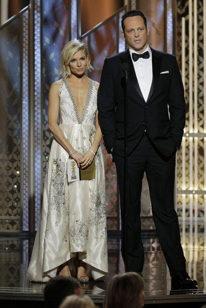Sienna Miller y Vince Vaughn