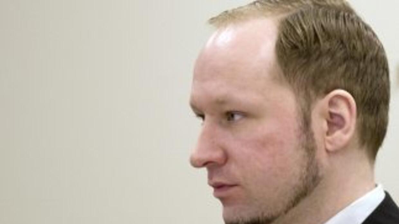 Anders Behring Breivik, autor de la matanza de 77 personas en Noruega.