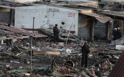 Más de 30 muertos tras las explosiones en un mercado de pirotecnia en Tu...