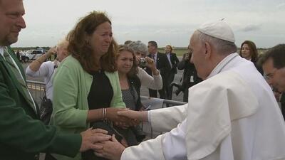 El Papa vuelve a romper protocolo en Filadelfia