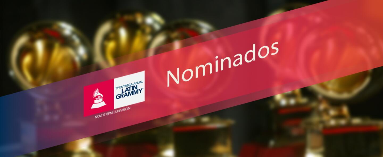 Conoce a los nominados a Latin GRAMMY 2016.