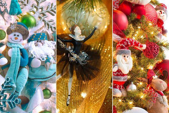 Tendencias de colores y adornos navideños
