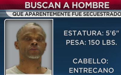 La policía busca a un hombre que aparentemente fue secuestrado en el áre...