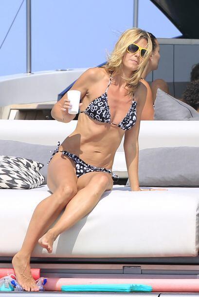 ¡Heidi Klum sigue sin perder el toque! Con 41 años esta 'ex...