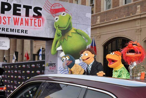 Los famosos títeres llegaron al Capital Theatre durante la premie...