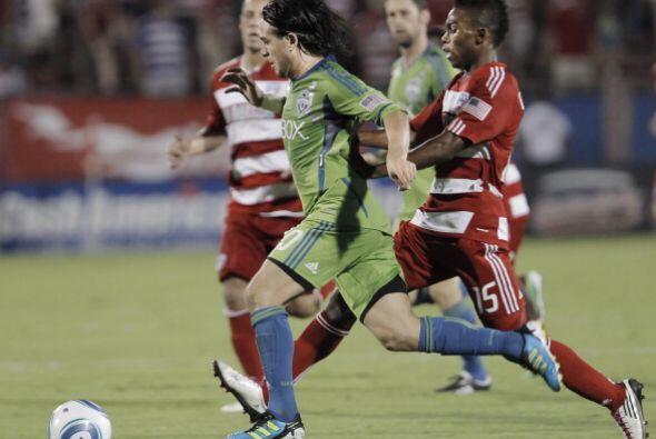 Con un solitario gol del volante argentino Mauro Rosales, Seattle Sounde...