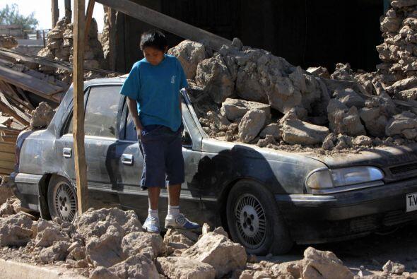 Terremoto de Perú. El 15 de agosto de 2007 se registró un...