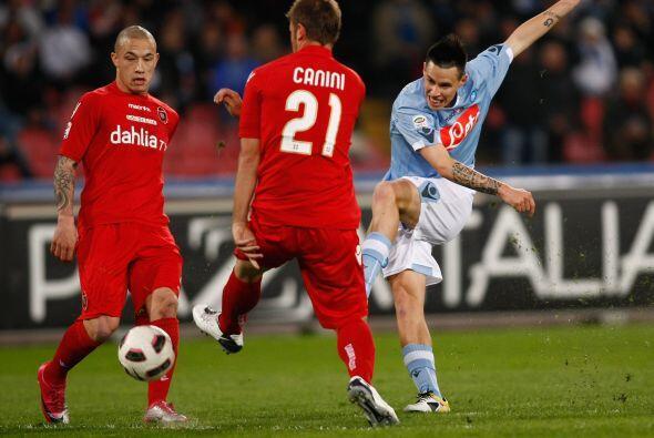 Finalmente, Napoli y Cagliari cerraron la jornada italiana