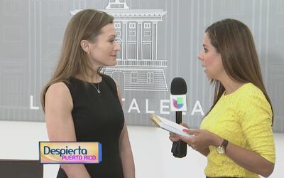 La secretaria de Educación de Puerto Rico habla sobre la consolidación d...